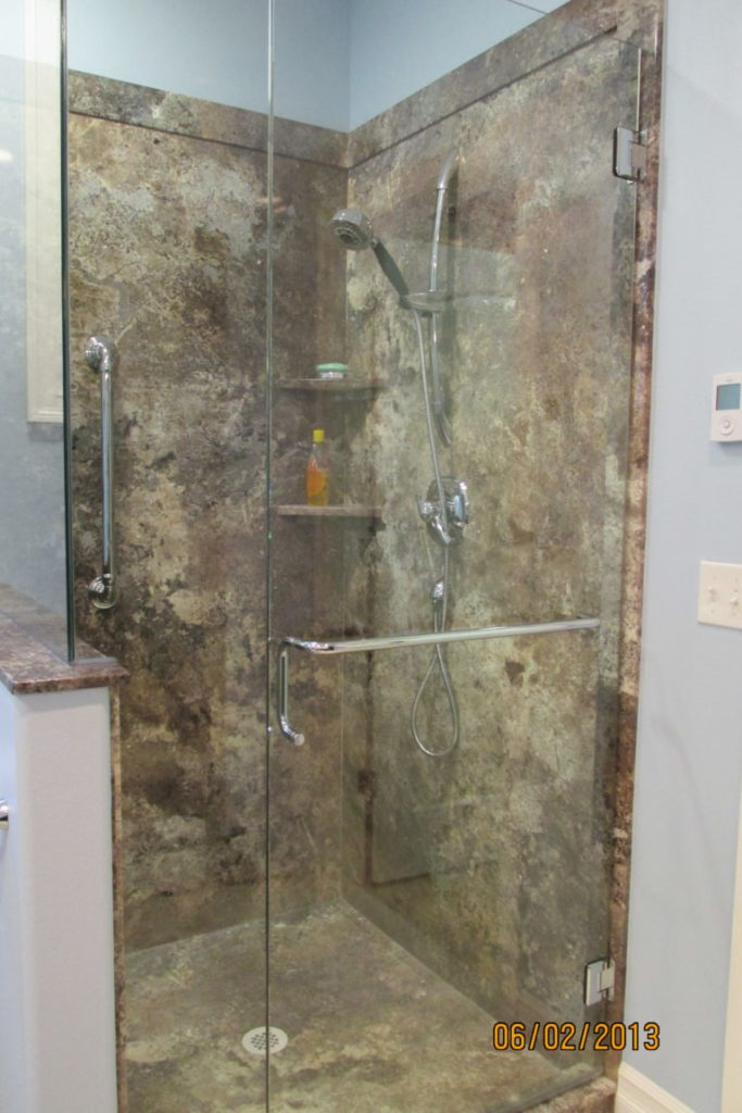 TruStone Abalone Shower